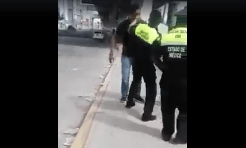 VIDEO: Policías de Edomex golpean a automovilista por no dar mordida