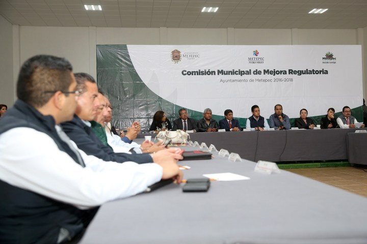Da seguimiento Metepec a acciones de mejora regulatoria