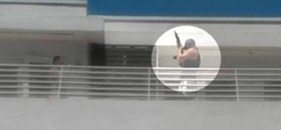 Enmascarados con rifle siembran el pánico en Miami Beach