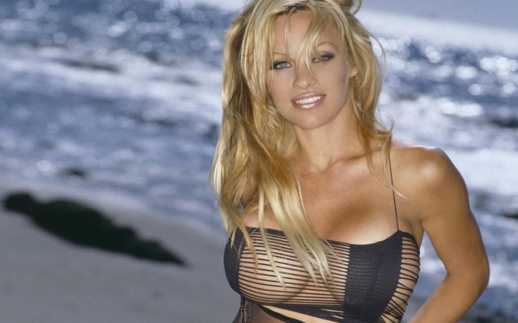 A sus 49 años Pamela Anderson se desnuda