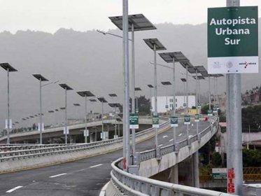 Un choque y un robo el saldo en la nueva Autopista Urbana Sur