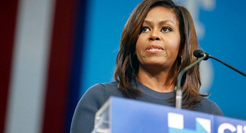 "Michelle Obama llama ""Predador sexual"" a Trump"