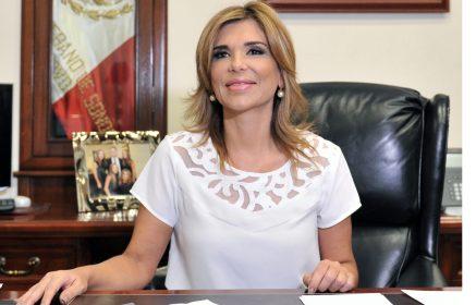 Claudia Pavlovich presenta su primer informe