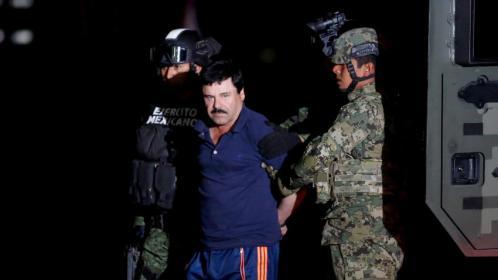 """Conceden extradición a EU al """"El Chapo"""""""