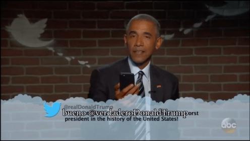 """Al menos seré recordado por ser presidente"" Obama a Trump"