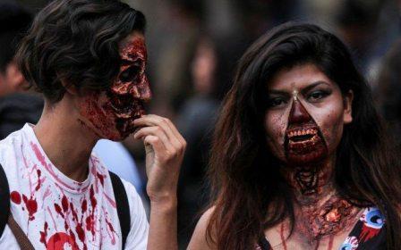 10 mil zombis caminan por la Ciudad de México