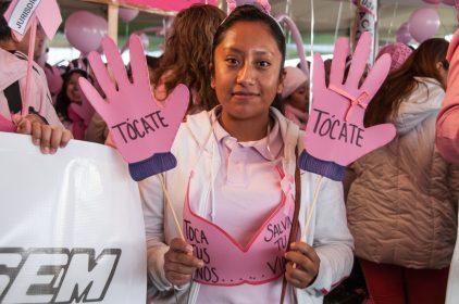 Invita ISEM a caminata para fomentar prevención del cáncer de mama