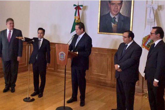 Erasto Martínez ahora será Jefe de la Oficina de la Gubernatura del Estado de México