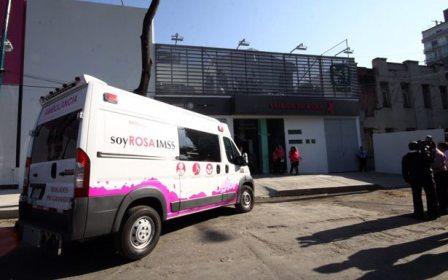 El IMSS inaugura la primera clínica de mama en el país