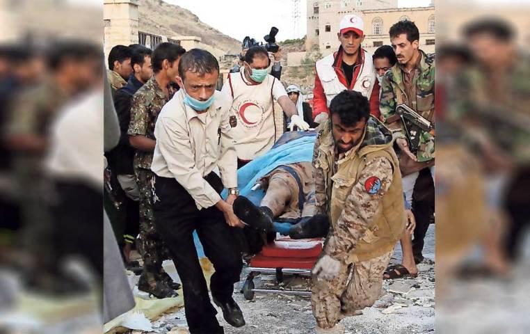 Atribuyen a Arabia Saudita bombardeo en Yemen