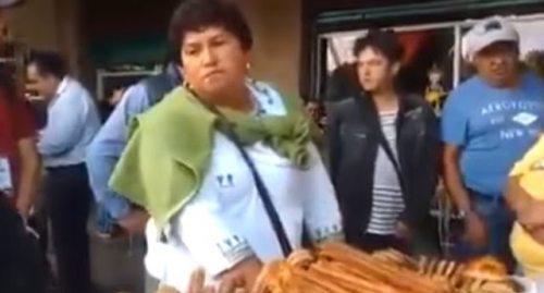 Verificadores del Ayuntamiento de Toluca golpearon a mi hijo: Lady Churros