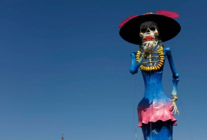 Administración de Zamora tarda en localizar meses catrinas monumentales