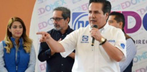 Exigen panistas detener inseguridad en Tlalnepantla