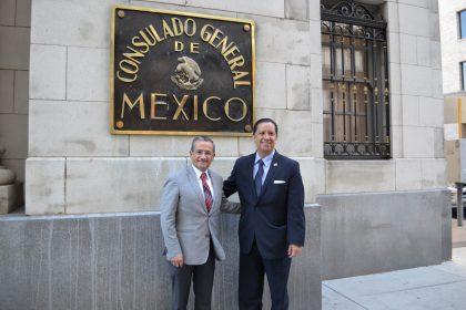 Inició UAEM vínculos con consuladode México en San Antonio, Texas