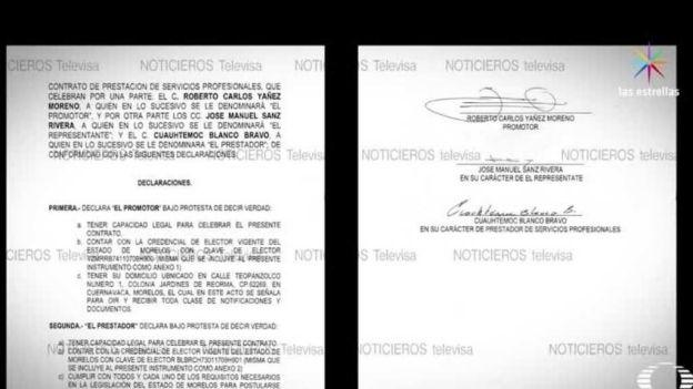Es Falsa la firma de 'Cuau' en contrato con PSD: Fiscalía