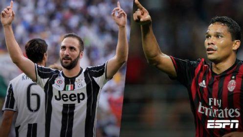 Milan busca reabrir el campeonato ante Juventus