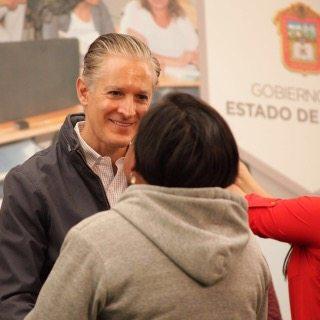 Eruviel reconoce a Alfredo Del Mazo, las acciones en pro del Estado de México