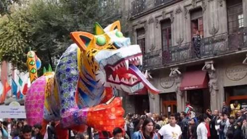 Alebrijes monumentales darán colorido al centro de la Ciudad de México