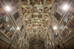 Italy - Vatican - Sistine Chapel's new led lighting system unveiled