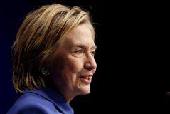 Hillary Clinton speaks to the Children's Defense Fund in Washington