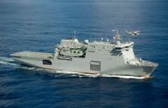 Buque de Desembarco anfibio LSD Infanteria Marina Colombia