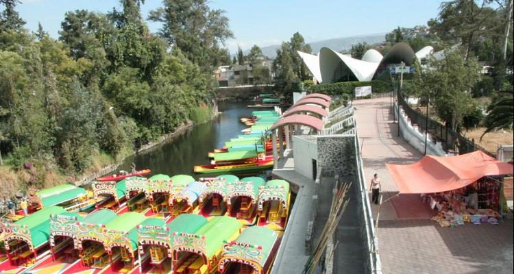 Les dan plomo a cuatro bajando de las trajineras en xochimilco for Jardin xochimilco