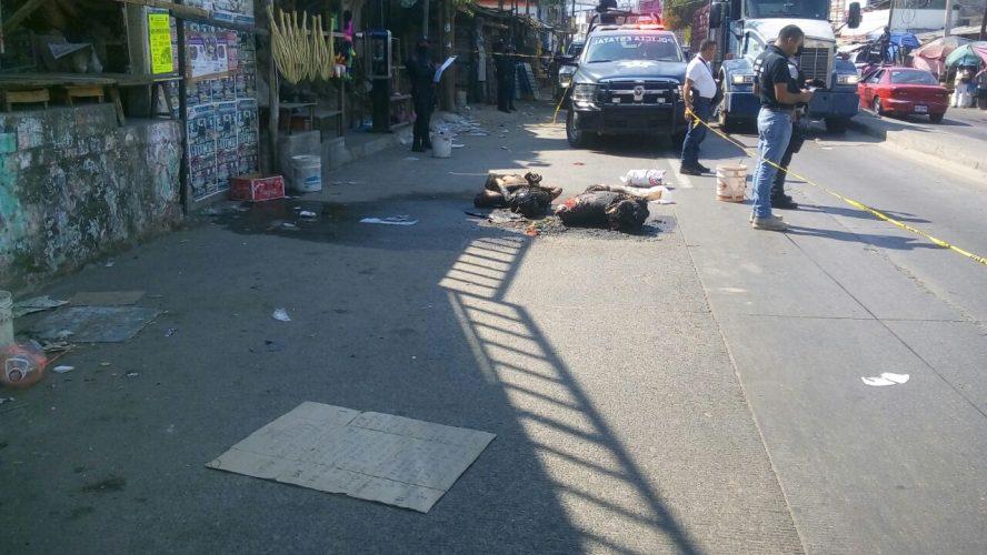 Hombres que participaron en el asalto de la Telesecundaria en Acapulco son encontrados calcinados
