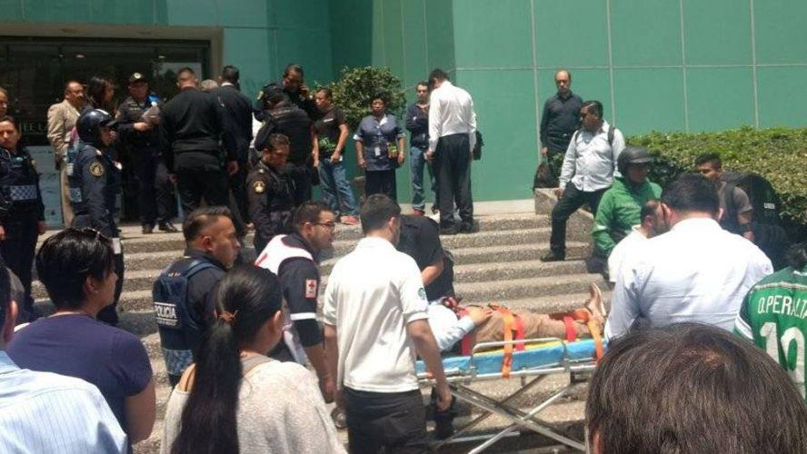 Joven es baleado tras resistirse a asalto en el WTC de Ciudad de México