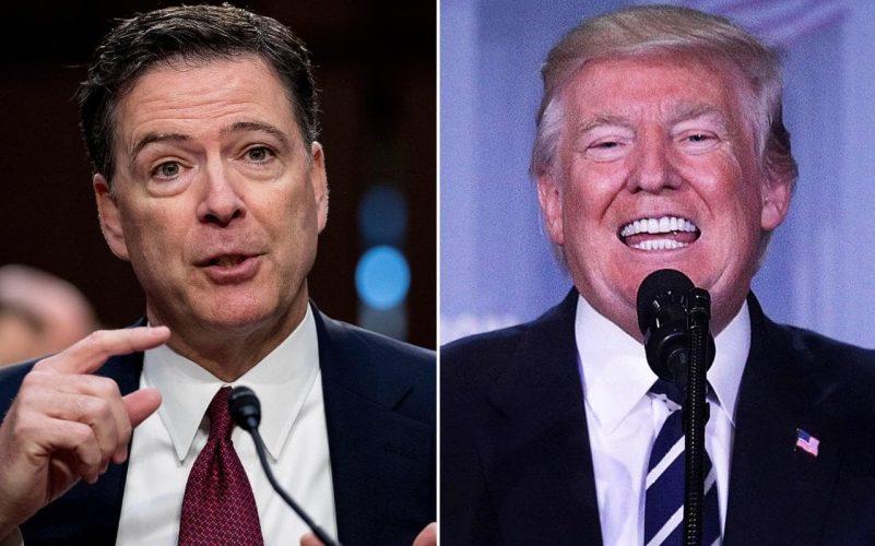 Trump arremete en Twitter contra James Comey exdirector del FBI