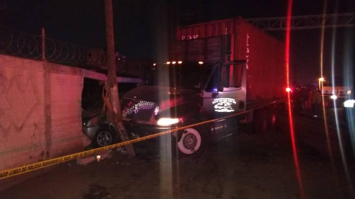 Policía muere en cumplimiento de su deber; fue arrollado por un camión en Ecatepec
