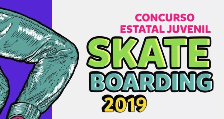Toluca, sede del Concurso Estatal Juvenil Skate Boarding 2019