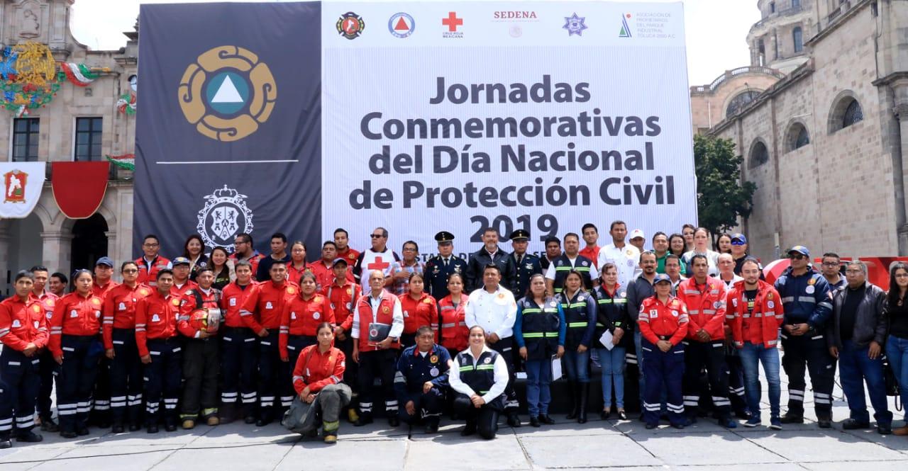 Concluyen jornadas conmemorativas del Día Nacional de Protección Civil 2019