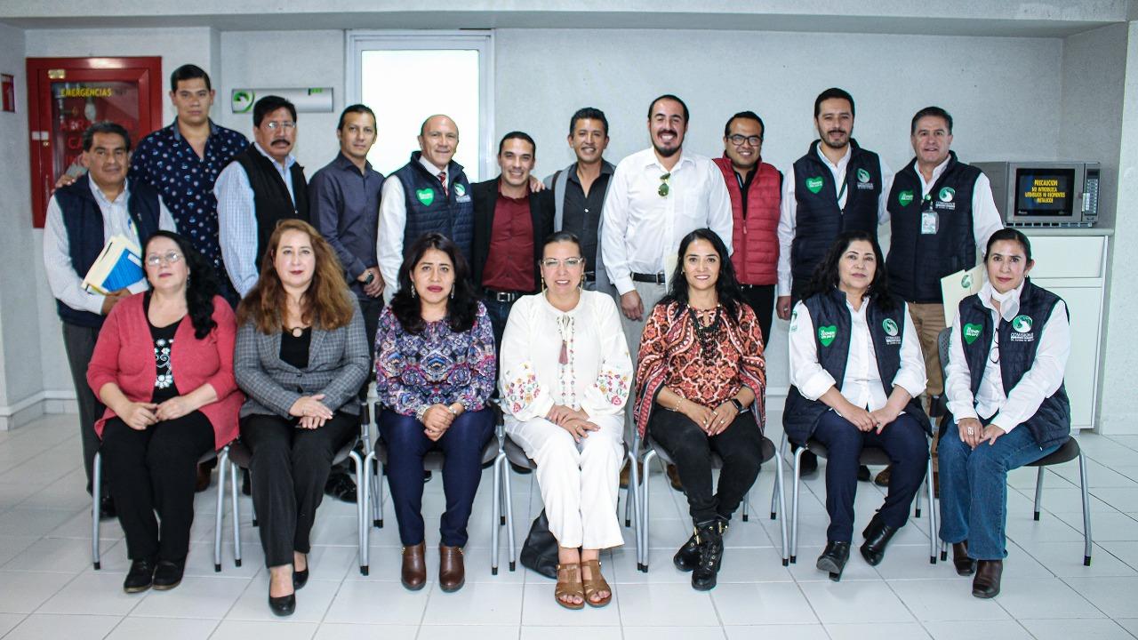 Realizan mesa de trabajo entre la CODHEM y periodistas