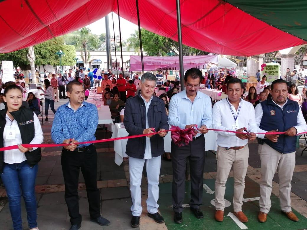 Realiza GEM Feria del Empleo No. 46 en Tejupilco