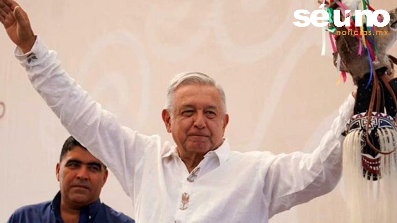 El presidente Andrés Manuel López Obrador ratificó el compromiso de su gobierno porque los grupos más necesitados tengan mejores condiciones de vida y trabajo