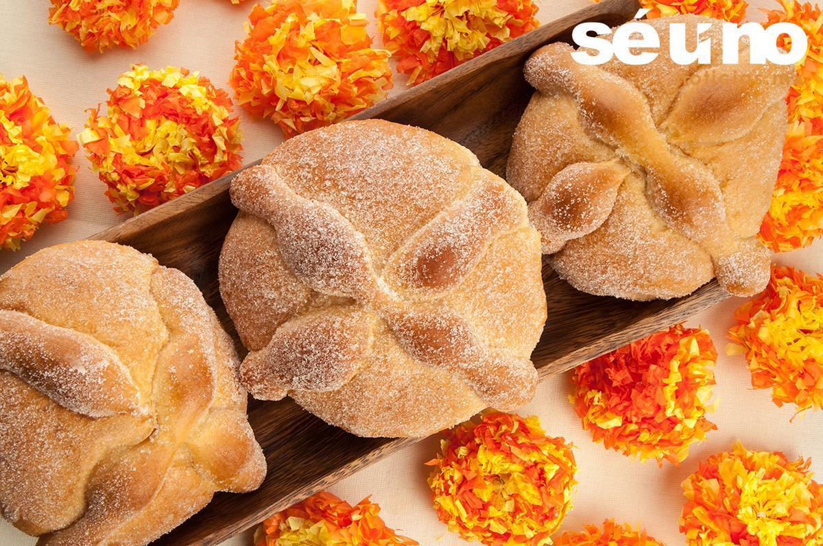 Un pan de muerto tiene menos calorías que un plato de frutas
