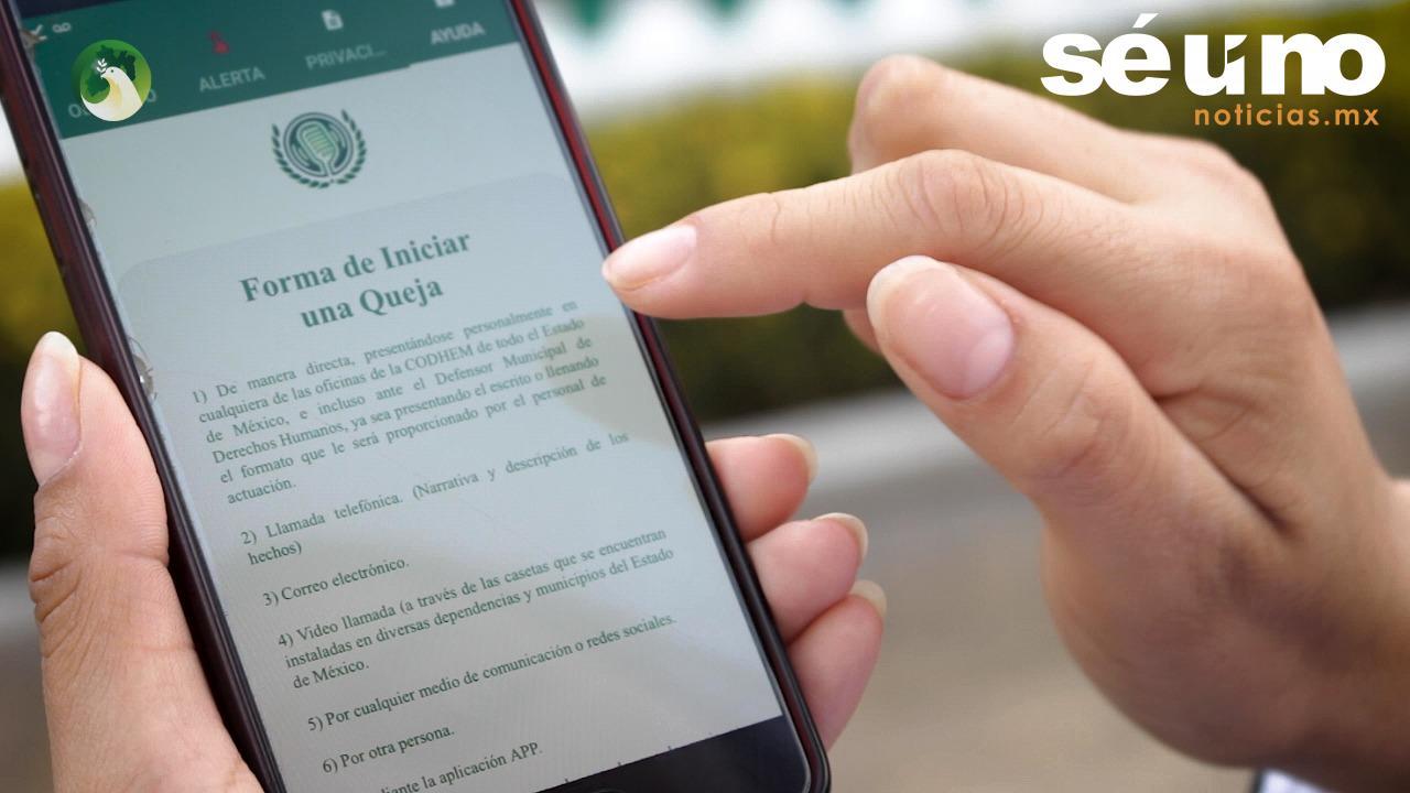 En operación app para denunciar violaciones a derechos humanos de periodistas: CODHEM
