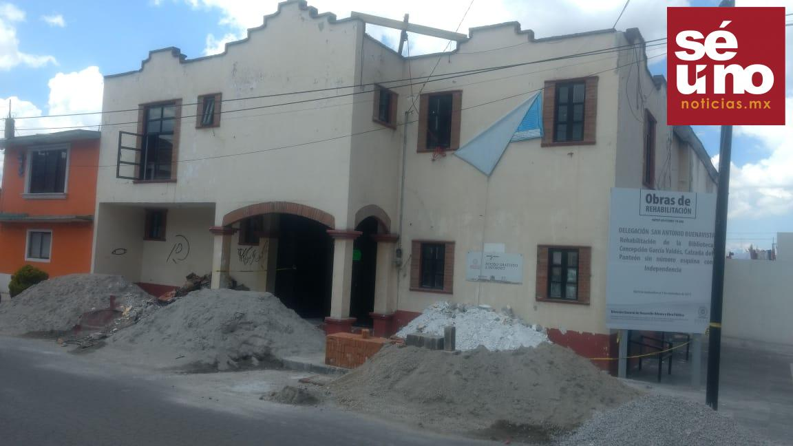 Rehabilitan bibliotecas de Toluca