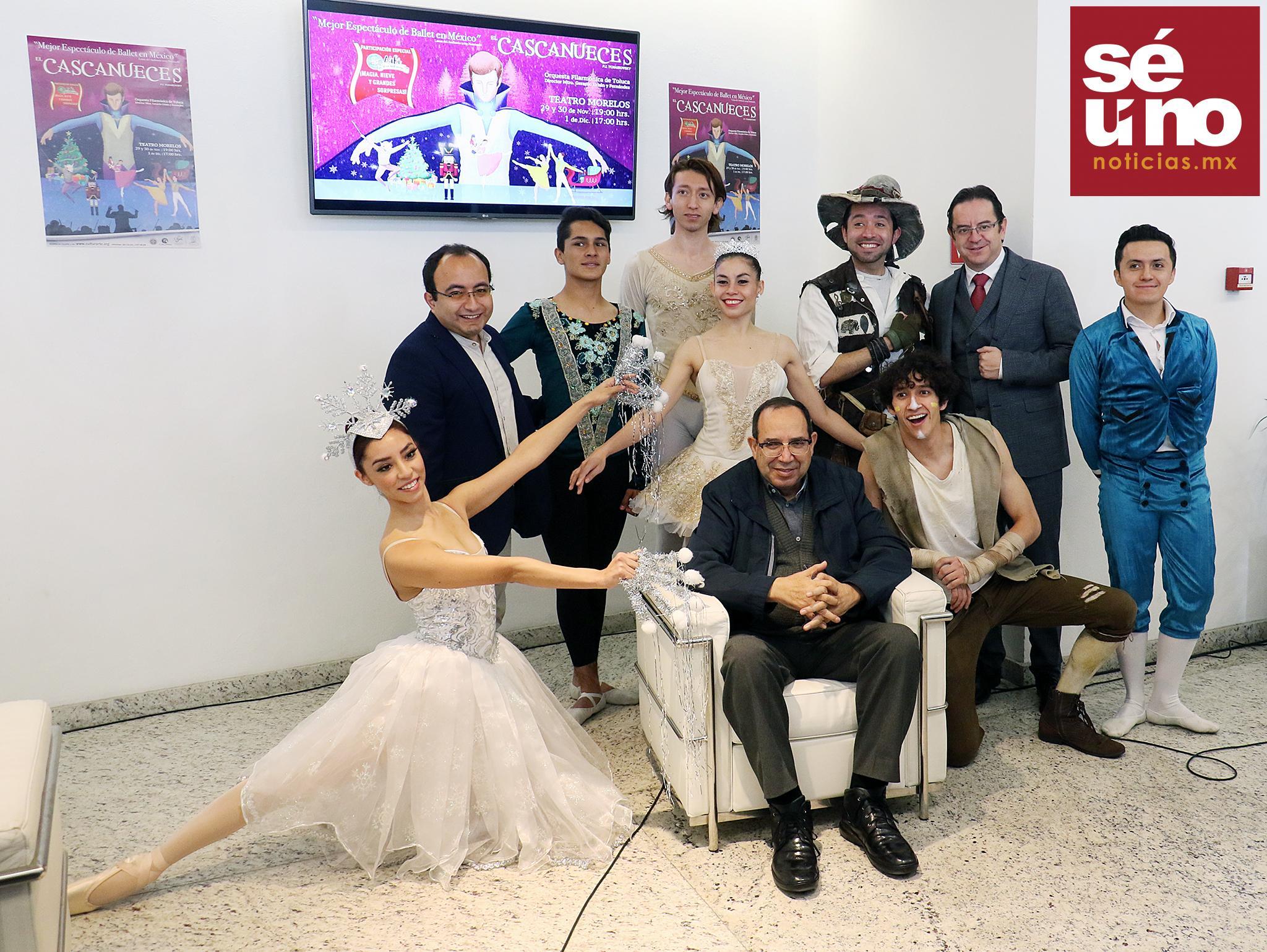 Habrá tres fechas de El Cascanueces en el Teatro Morelos