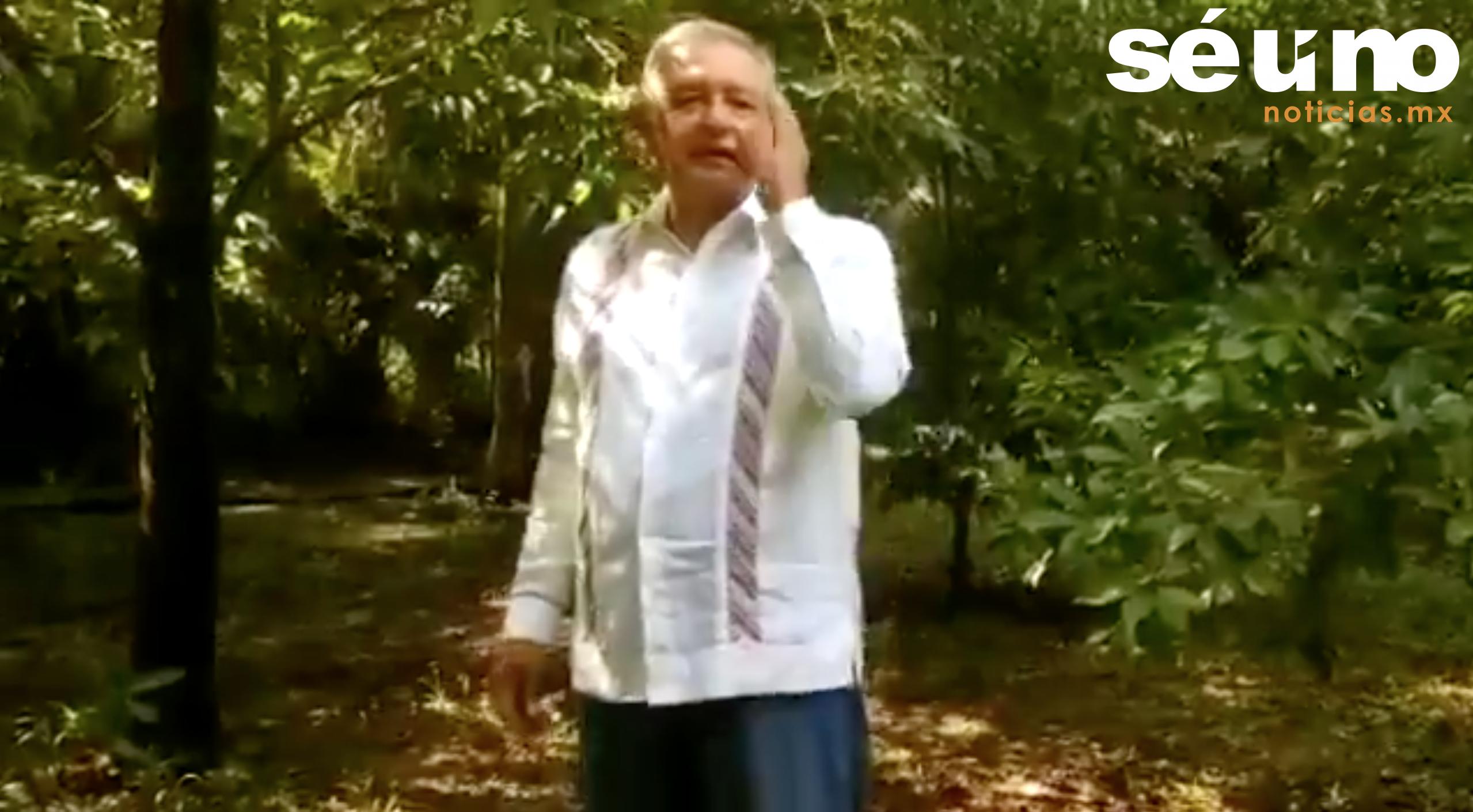 """El presidente Andrés Manuel López Obrador dijo que """"no hay nada que temer"""" pues, tras reflexionar, considera que su gobierno va por el camino correcto."""