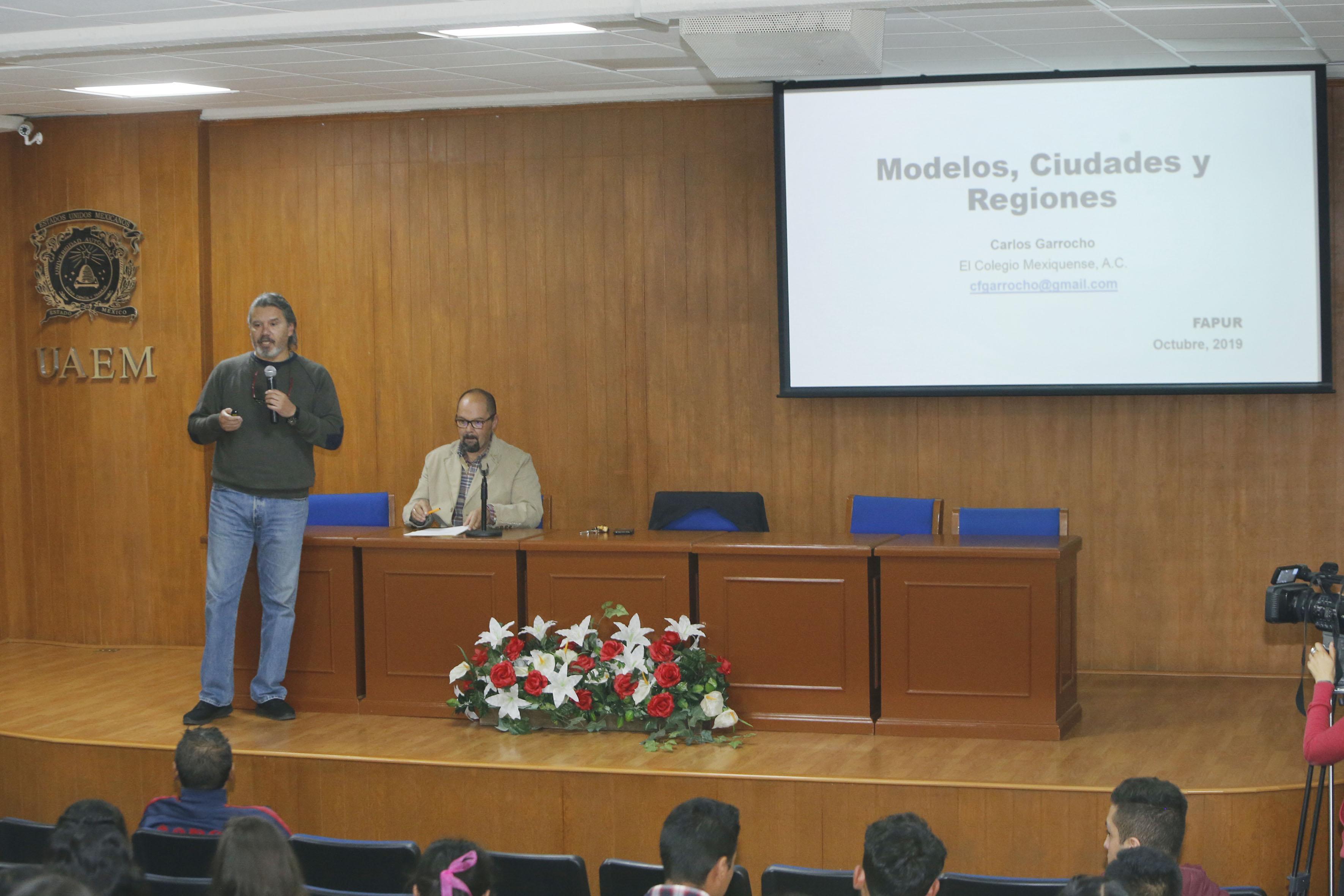 UAEM realiza Semana del Urbanismo y la Planeación Territorial