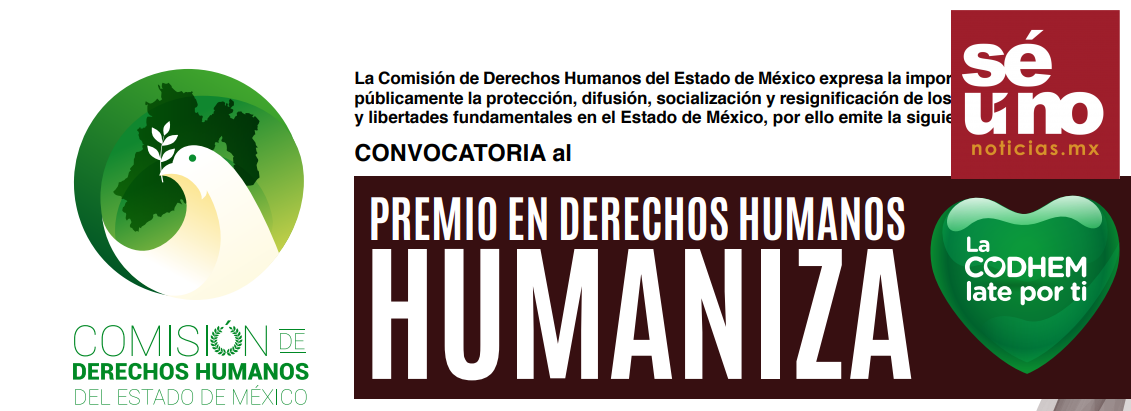 Lanza CODHEM convocatoria del Premio Humaniza 2019