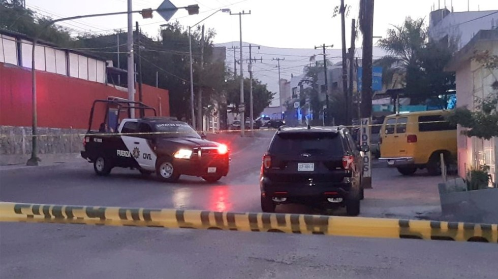 La madrugada de este martes fueron localizadas siete bolsas negras con restos humanos en calles de Monterrey, Nuevo León