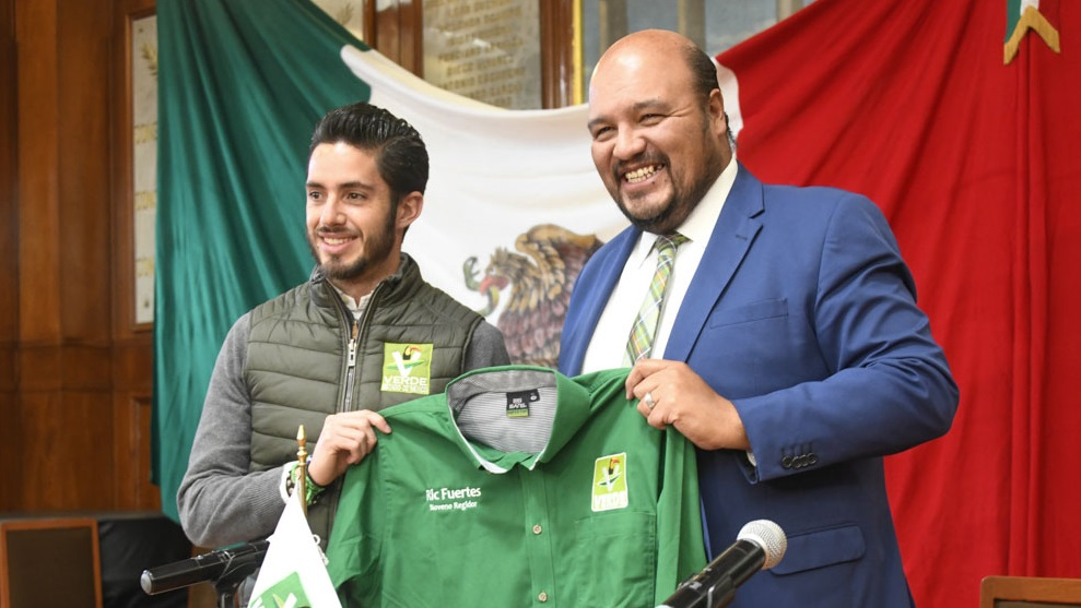 Anuncia Alberto Couttolenc adhesión al PVEM de regidor de Naucalpan