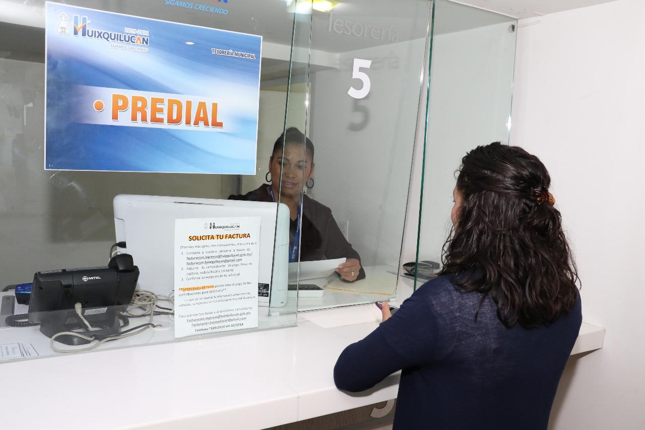 Huixquilucan tendrá descuentos en el pago de agua y del impuesto predial