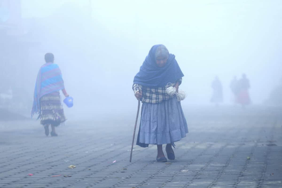 Domingo Helado, habrá bajas temperaturas y caída de aguanieve en varias partes del país