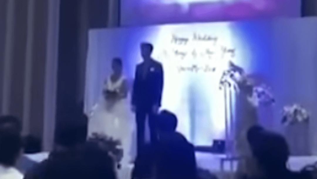 Durante su boda, un hombre se vengó de su novia, quien lo había engañado con el esposo de su hermana embarazada.