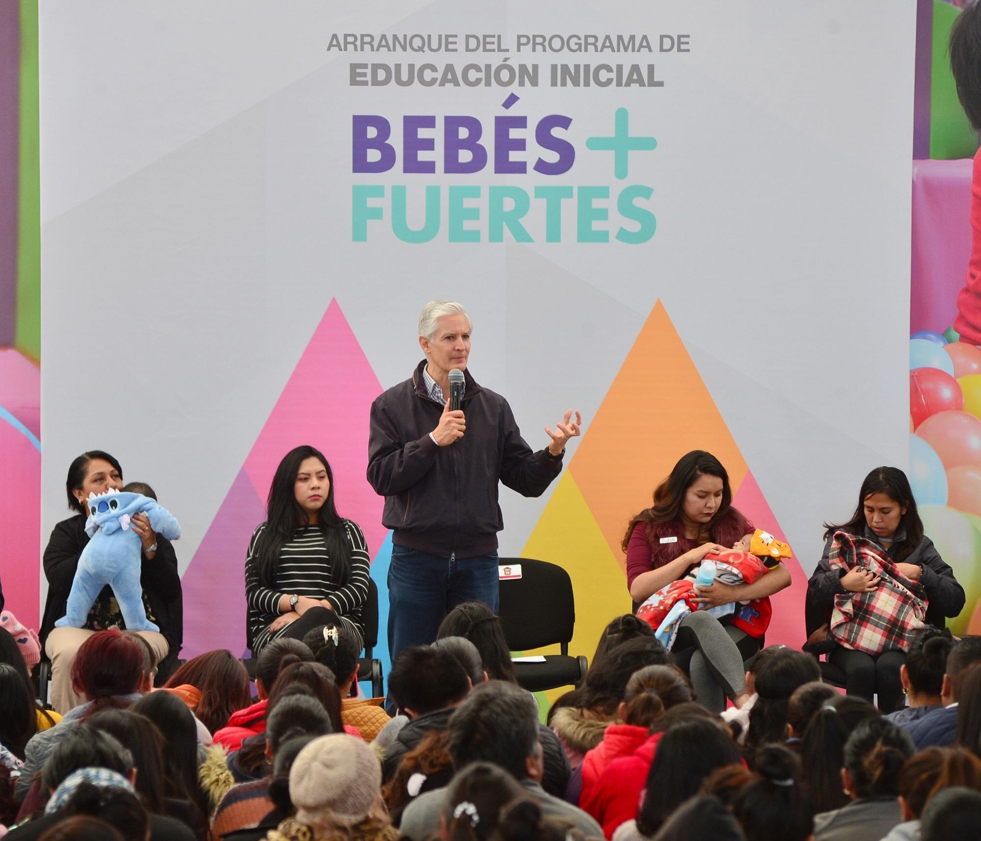 En marcha programa de educación inicial bebés + fuertes, para impulsar el desarrollo integral de los menores de 3 años