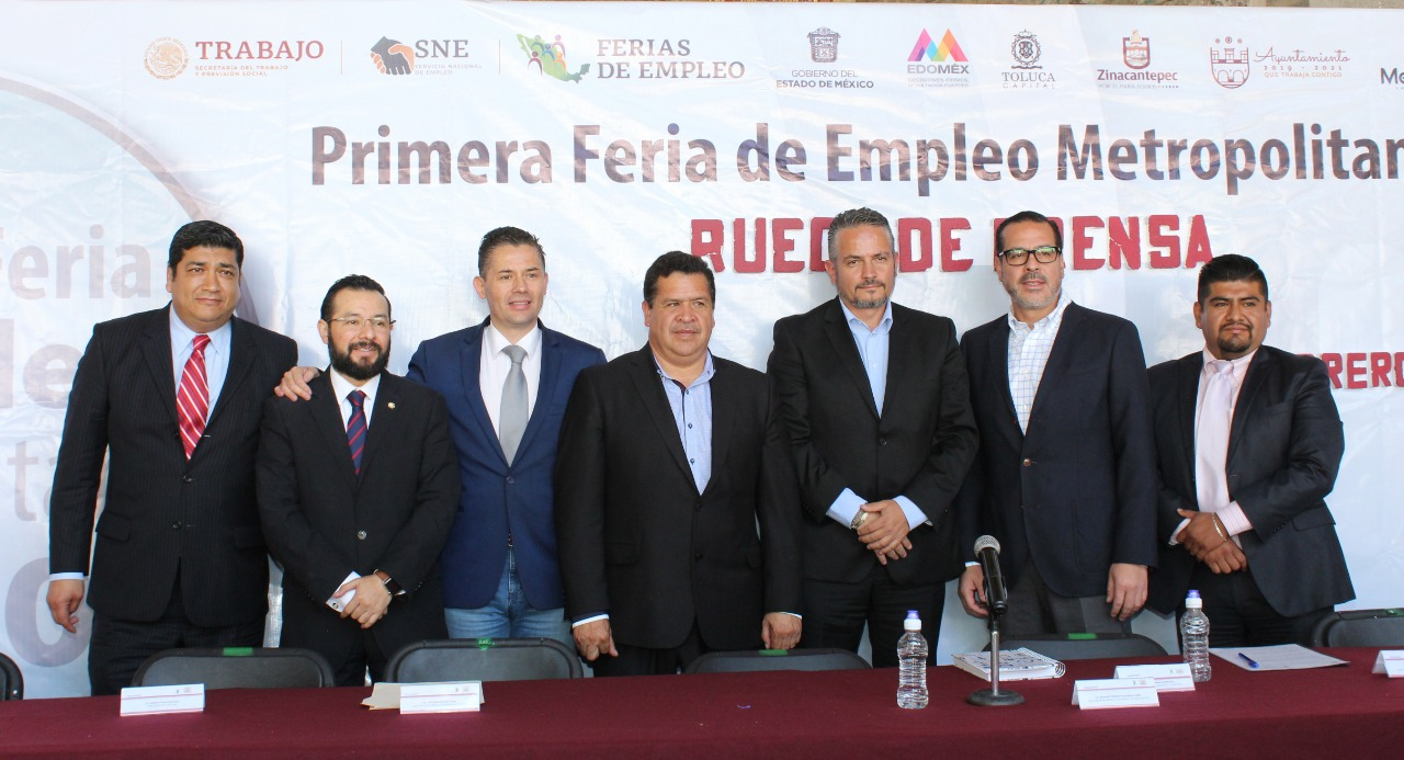 Toluca sede de la Primera Feria de Empleo Metropolitana 2020