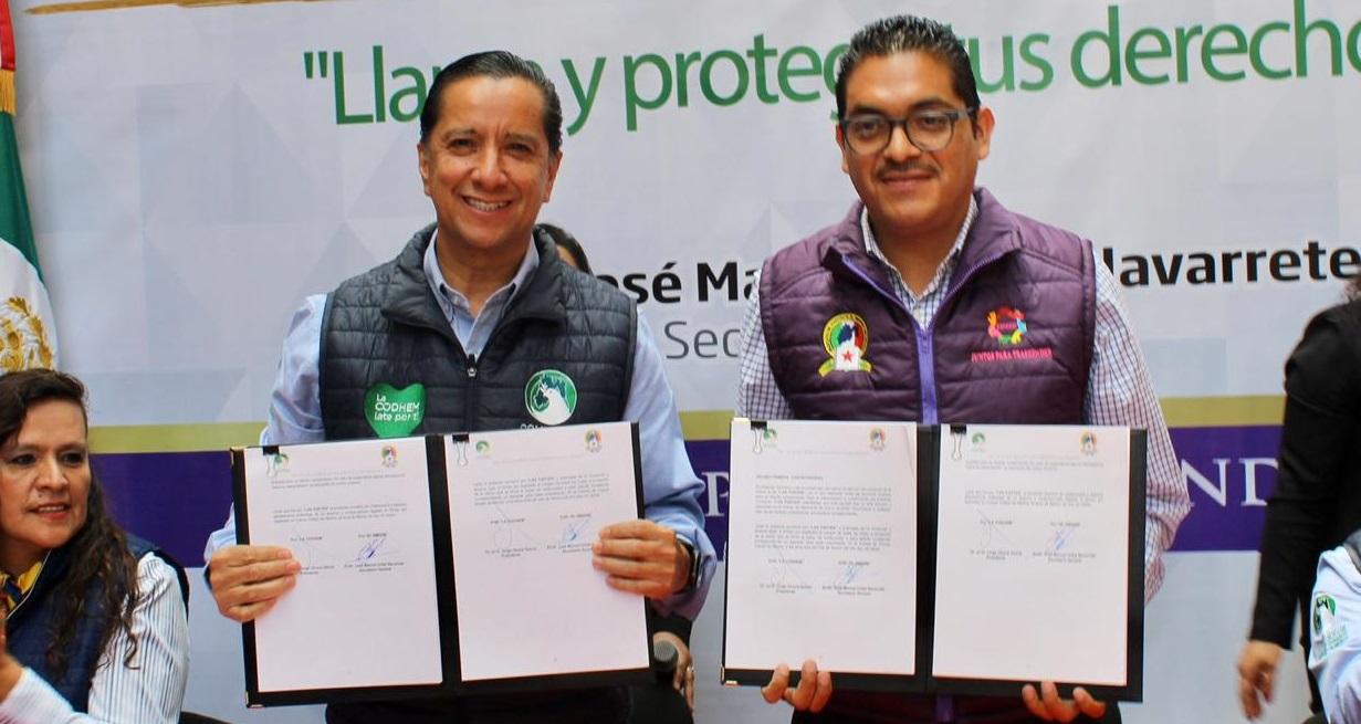 Inicia alianza estratégica entre CODHEM y el SMSEM a favor de la Cultura de Paz y Derechos Humanos